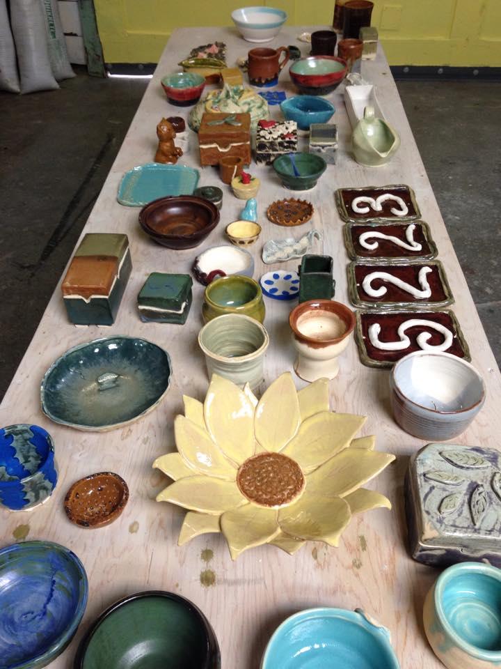begining ceramics projects 2015